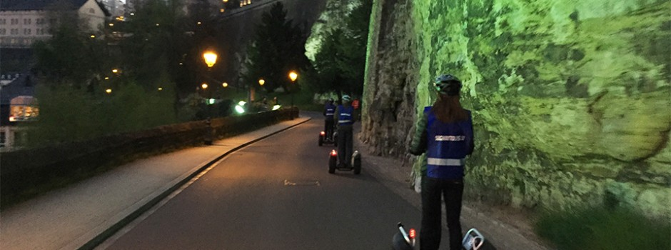 Segway by night